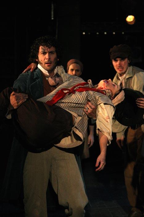 Les Misérables, avec Carl Poliquin et Jean-François Poulin