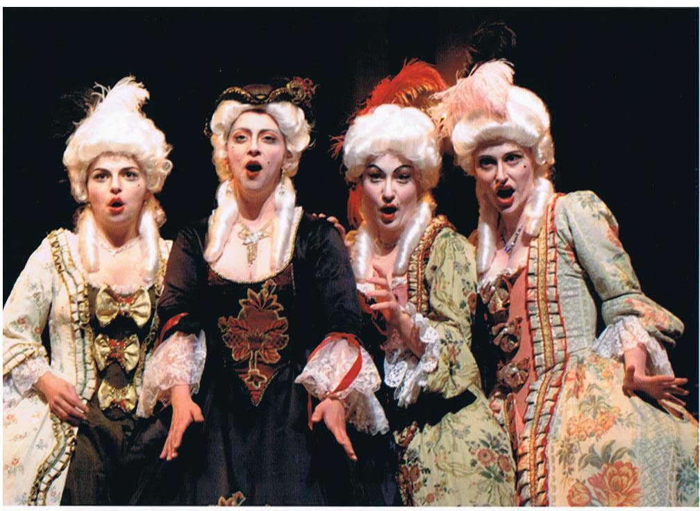 Manon de Massenet avec Nathalie Paulin, Julie Boulianne et Hélène Couture.