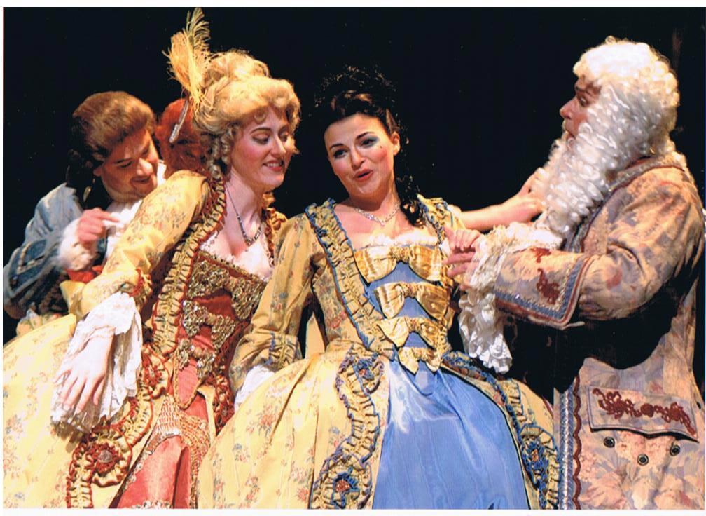 Poussette dans Manon avec Hélène Couture