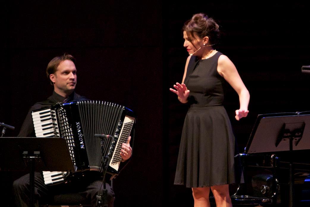 Jean-François Lambert et Sabrina Ferland