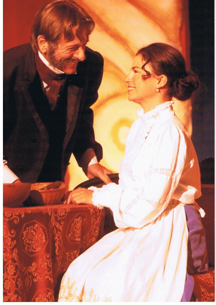 Sabrina Ferland et Albert Milaire dans Pomme D'Api