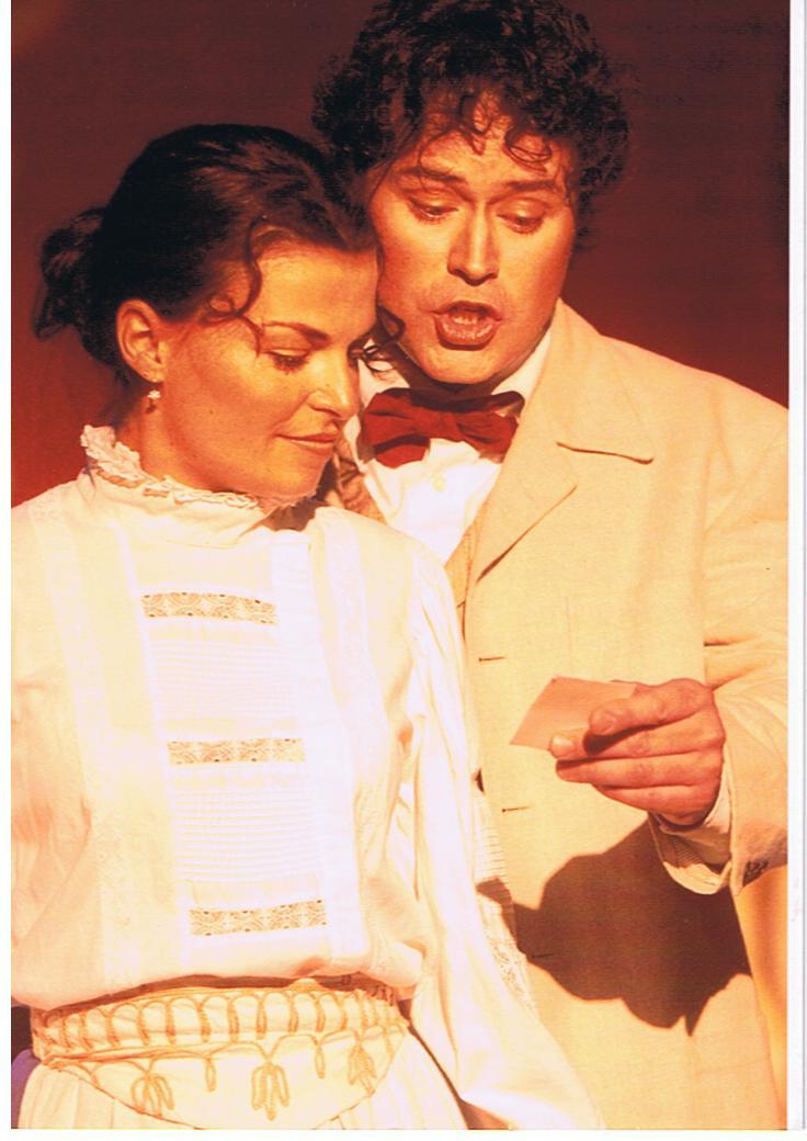 Sabrina Ferland et Marc Duguay