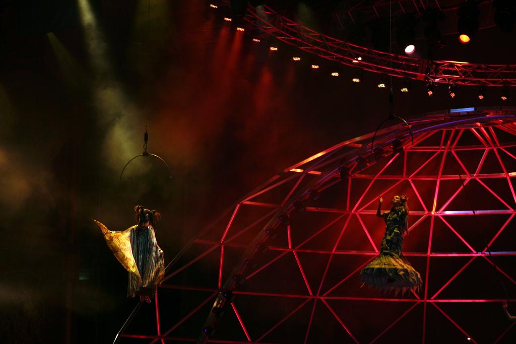 Cirque du Soleil avec Joan Bluteau et Sabrina Ferland