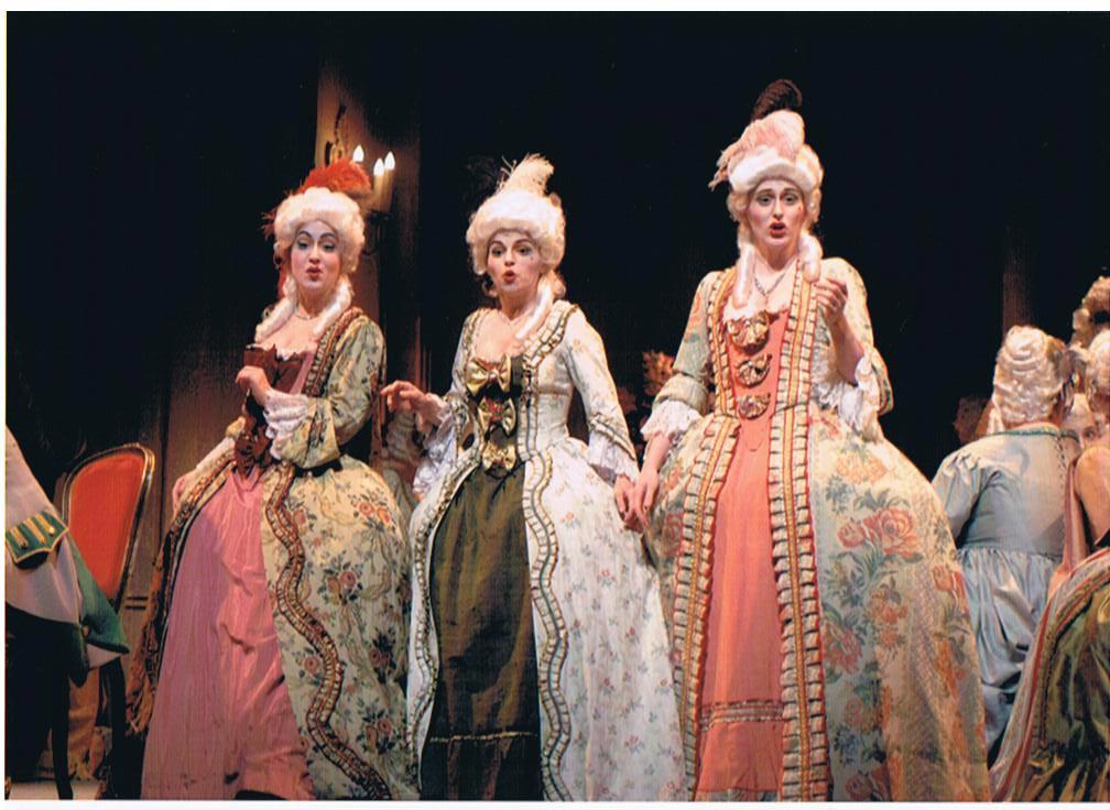 Julie Boulianne, Sabrina Ferland et Hélène Couture
